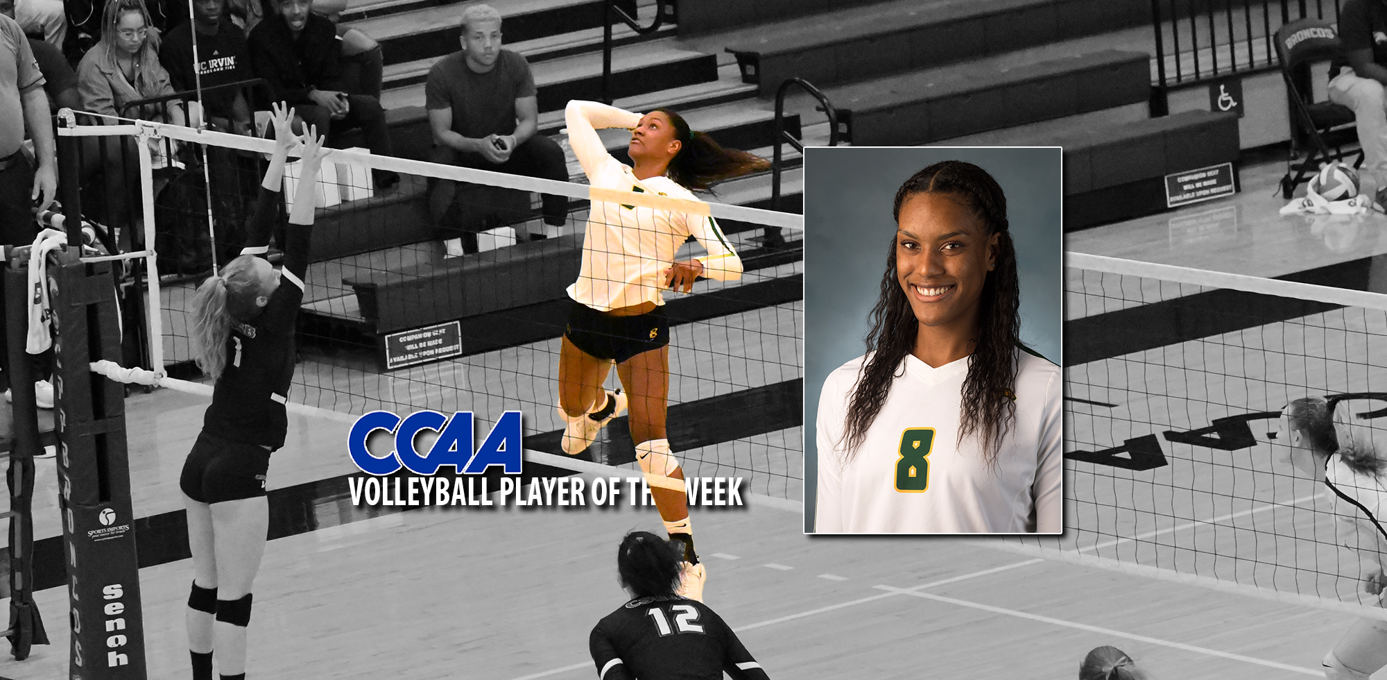 Hamlin Snags Third Ccaa Player Of The Week Award Cal Poly Pomona Athletics